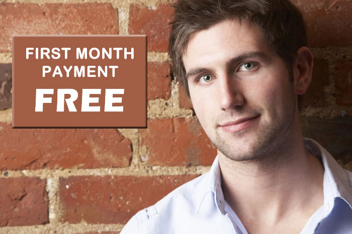 first month payment free