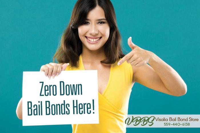 Zero Down Bail Bonds At Visalia Bail Bond Store